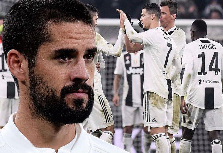 En Italia apuntan sobre un 'trueque' Madrid-Juve por Isco 💰  https://bit.ly/2RJLg82   #Isco #RealMadrid