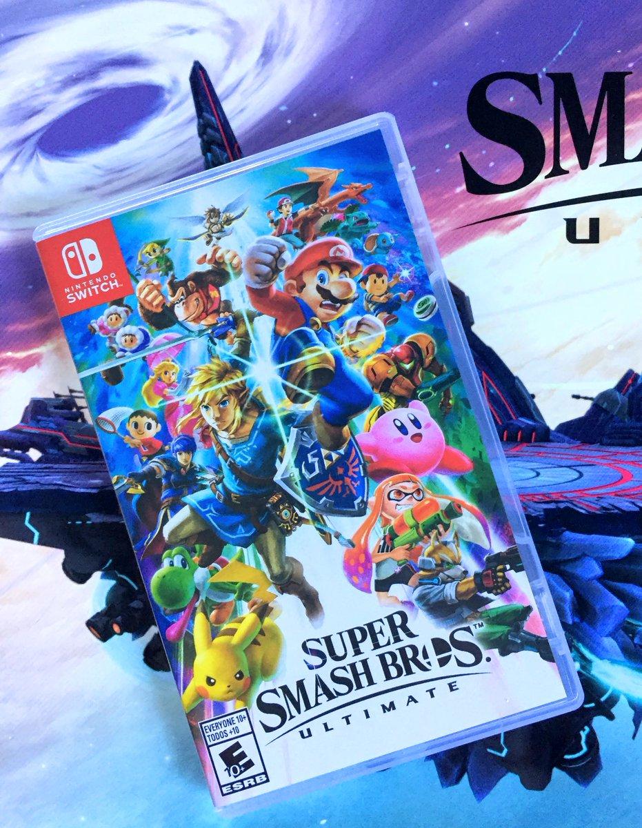 Super Smash Bros  Ultimate Release Tweets