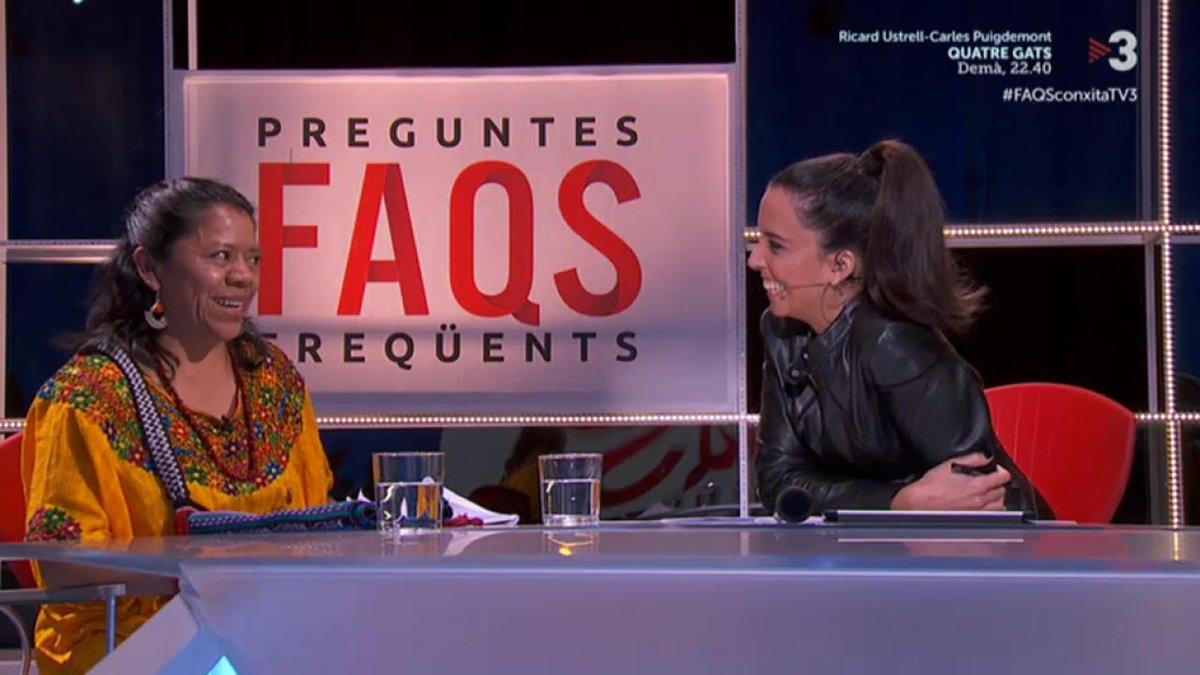 """""""Florentino Pérez està matant la gent de Gutemala"""" Lolita Chávez (líder indígena refugiada a Espanya) a #FAQSconxitaTV3 ▶️ http://tv3.video/FAQSconxitaTV3"""