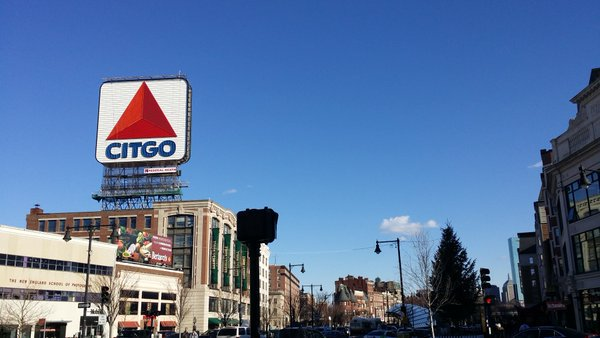 53 years ago this month in 1965, the CITGO sign was installed over 660 Beacon Street in Kenmore Square.  The CITGO sign used to contain 5,878 glass tubes with a total length of more than 5 miles.  To be more energy efficient, it has been using LED lighting since 2005.   <br>http://pic.twitter.com/vQU5R8FbXj