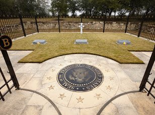 Here a some additional great photos of the gravesite on the grounds of the Bush Center. Photo Credit: Butch Ireland.