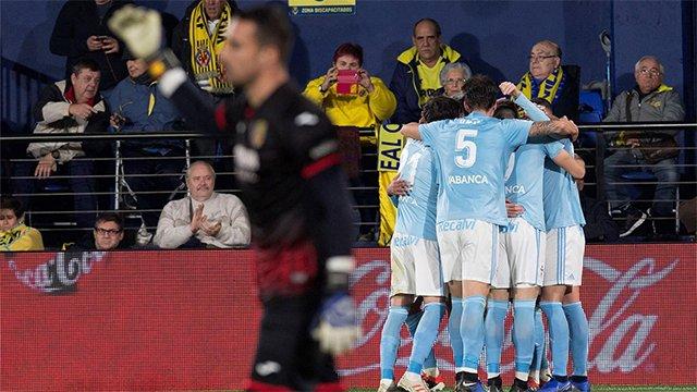 #LaLiga 🏆 | #VillarrealCelta ⚽ El Villarreal reacciona tarde y pierde ante el Celta Foto