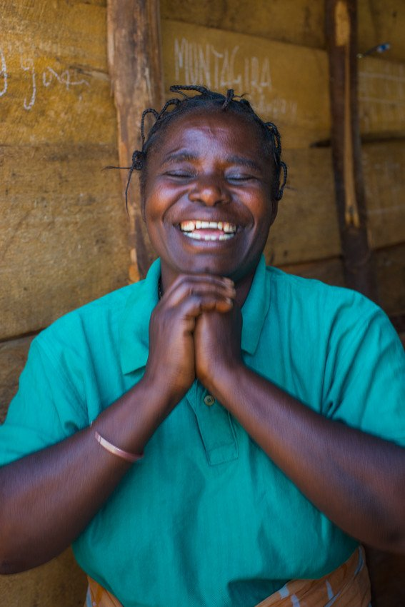 Ceserine's smile is so joyful, but she carries a painful story. After experiencing sexual violence, she found safety and joy by coming together with other women in our program. We have 4 recommendations for ending sexual violence in conflict: bit.ly/2MDrs43. #HearMeToo