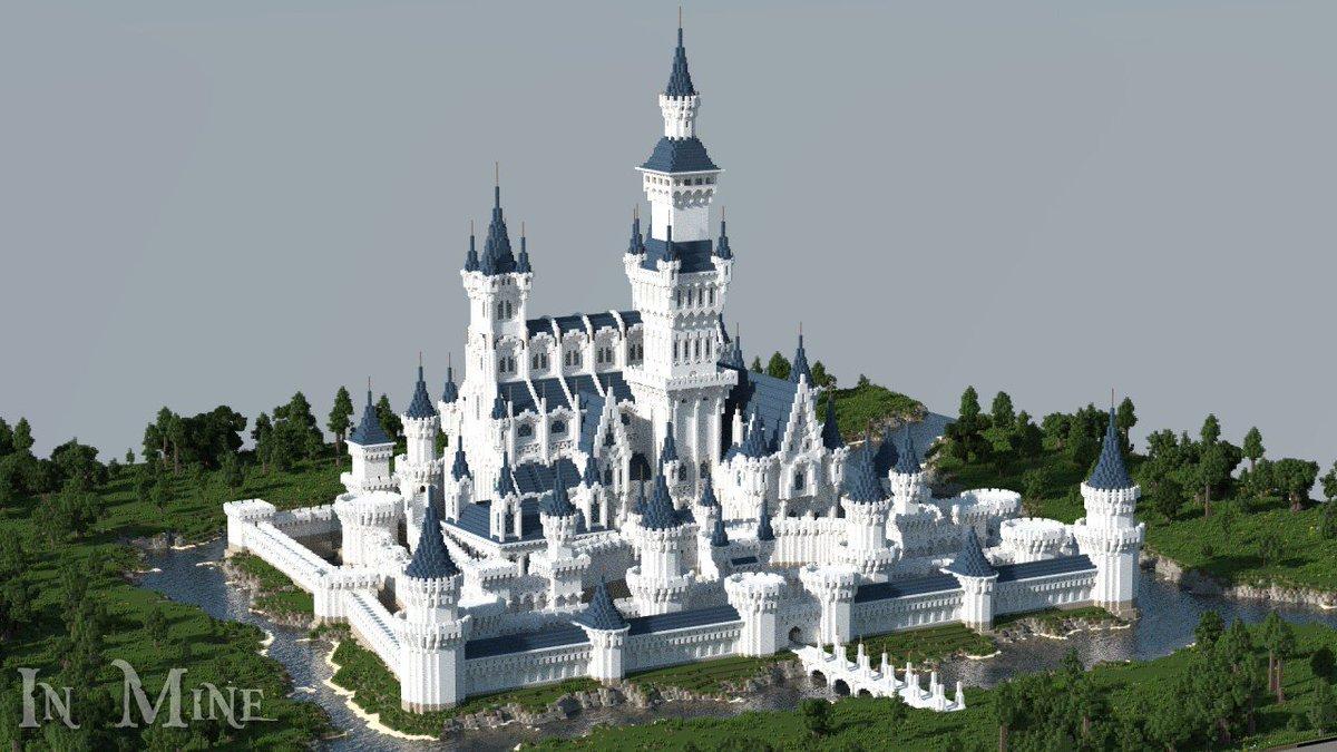 Minecraft Quartz Castle