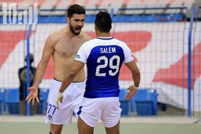 @Alsuwaidi_ksa وهذي عزيزي المشاهد فرحه لاعب هلالي في نهائي اسيا وفي الاخير تمردغ كـ العاده #كوع_كاريلو_اوضح_من_الشمس صورة فوتوغرافية