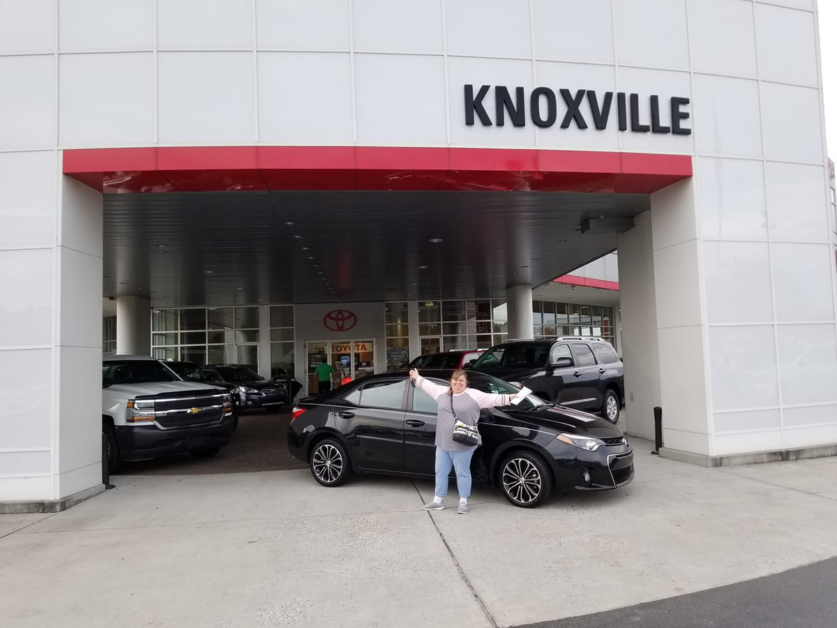 Toyota Of Knoxville >> Toyota Knoxville On Twitter Hillary Is Riding In Style