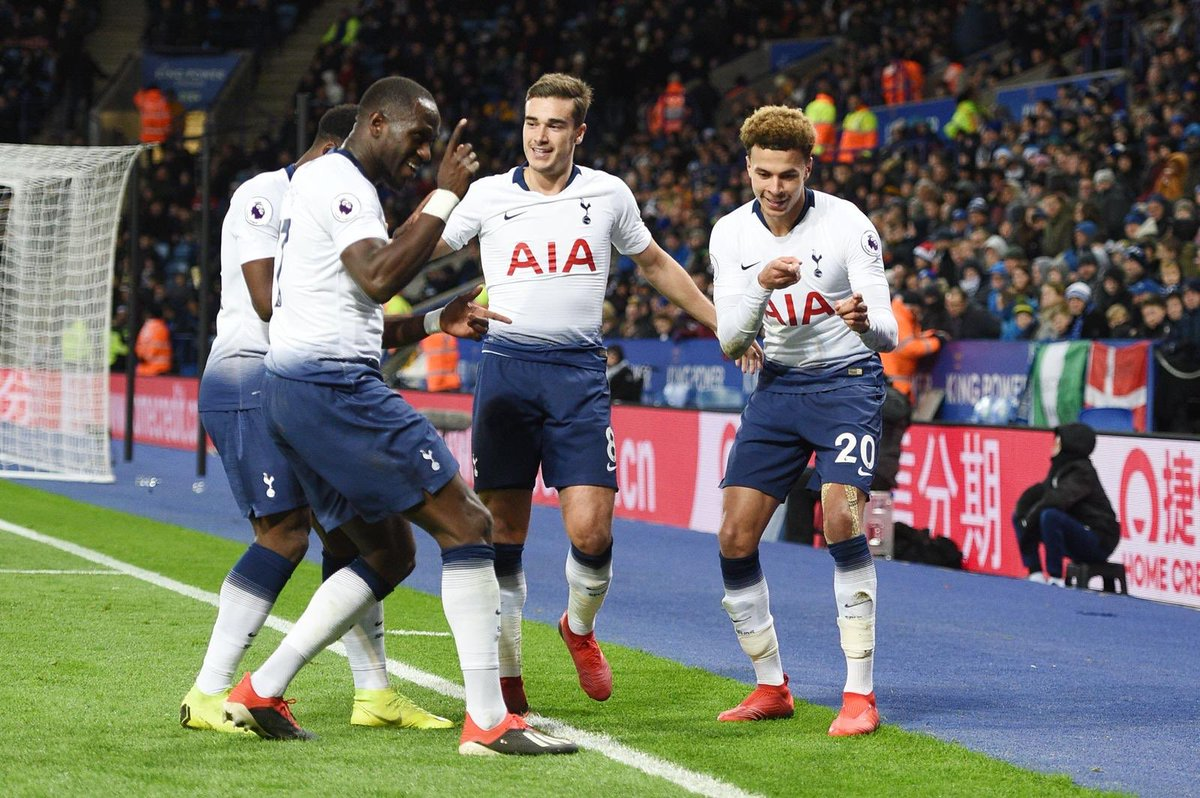 Image result for harry winks and moussa sissoko