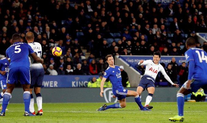 Dele Alli y Son fueron los encargados de darle un nuevo triunfo de Tottenham 2-0 de visitante ante Leicester. Esto deja a los Spurs terceros con 36 puntos, a 6 del líder Liverpool Photo