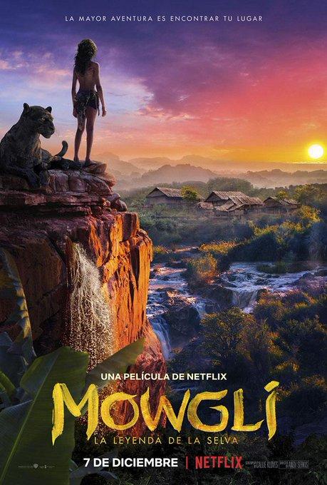 Preciosa la película de Mowgli :-) Un espectáculo visual y muy emotiva, la tenéis en Netflix. Photo