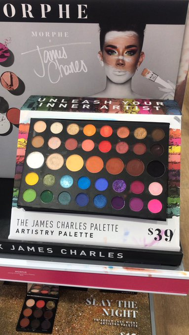 a sister drove 35 minutes to get to the only ulta that the website said the james charles palette was available turns out they sold the very last one a few hours before i got there Photo