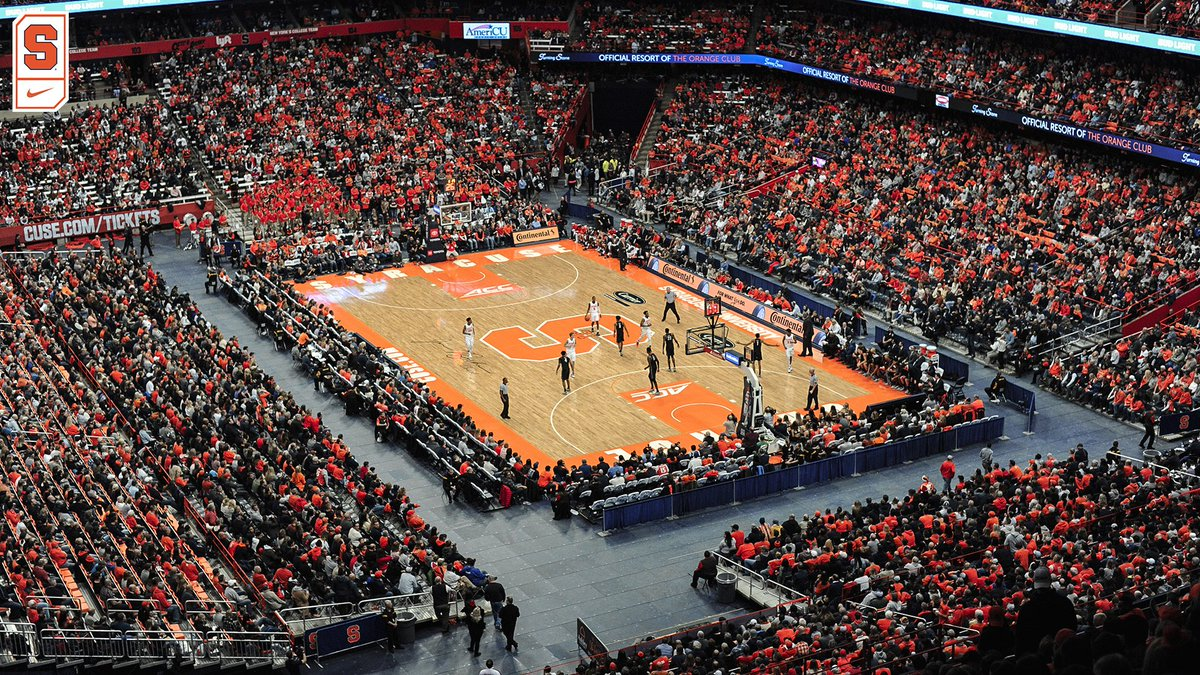 Syracuse Basketball On Twitter Today S Attendance 24 082