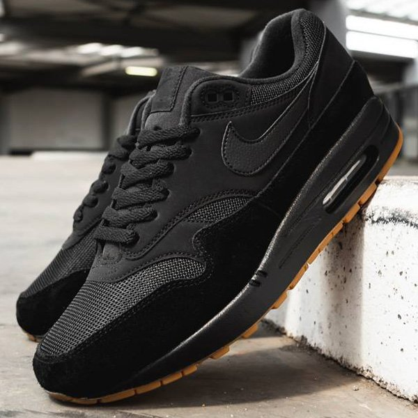 new styles adbfb 513ee From  champssports, this black gum Nike Air Max 1 is available for 20% OFF  at  88 + FREE domestic US shipping! BUY HERE -  http   bit.ly 2ApzGYo (use  promo ...