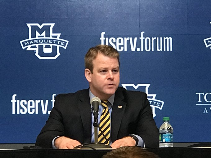 Head coach @steve_wojo says you'd like to hit the free throws down the stretch in overtime but playing good defense and winning when it's not all offense is beautiful #mubb Photo
