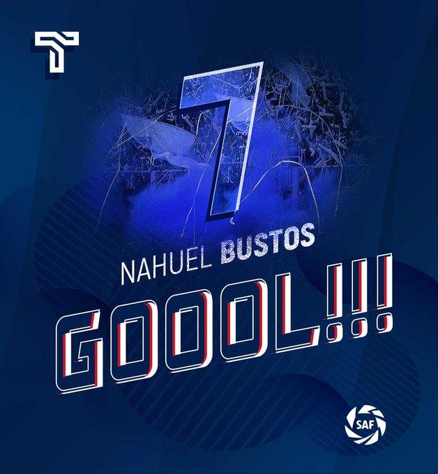 #VamosTalleres   ¡Nahuel Bustos abre el marcador en Buenos Aires! Lanús 0 - #Talleres 1 Foto