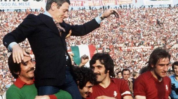 Fallece Luigi Radice, último entrenador que hizo campeón de Serie A al Torino » Foto