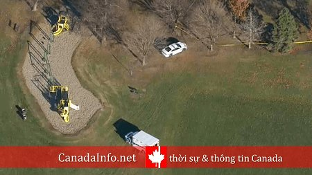 Bắt nghi phạm 20 tuổi trong vụ sát hại thiếu niên 14 tuổi ở công viênMississauga Photo