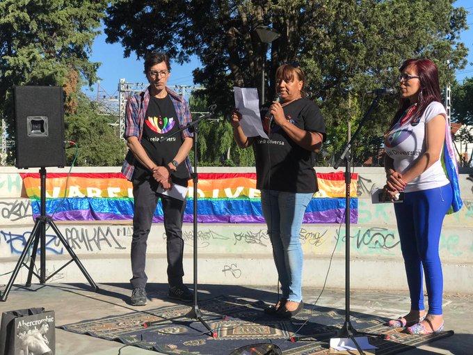 2° Marcha del #OrgulloLgbtiq+ de Florencio Varela! Excelente convocatoria felicitaciones a todxs lxs que la hicieron posible! Gracias!🏳️🌈✌️👏👏 Foto