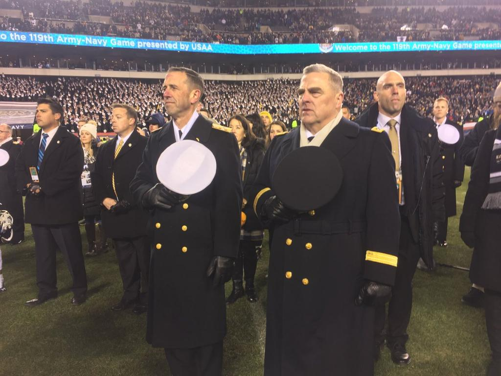 MT @CNORichardson: Congratulations to the @USArmy for their win in America's greatest rivalry, the #ArmyNavyGame. We'll see you back on the field next year. #GoNavy #BeatArmy