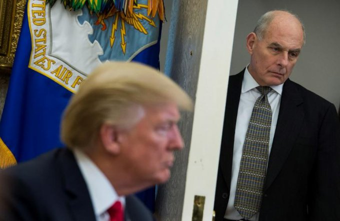 Secretario general de la Casa Blanca, John Kelly, deja su cargo a fin de año Photo