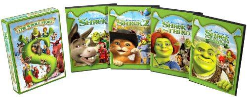 Take away their Shrek movie collection #WaysToScareKidsIntoBeingGood Photo