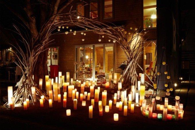 国内最大級のキャンドルイベント「代官山ノエル2018」クリスマスに向けキャンドル約8,000本が点灯 - Photo