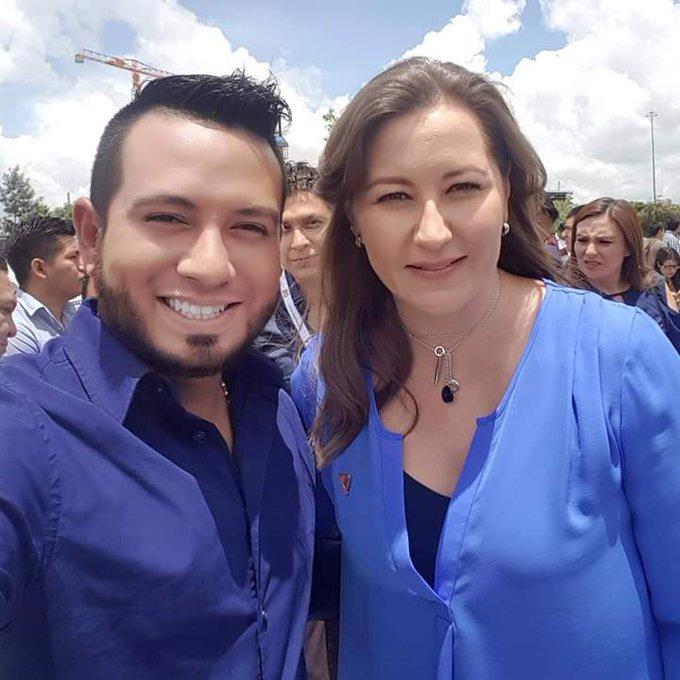 Respaldo total a @MarthaErikaA, #Puebla eligió y se debe respetar la decisión de los ciudadanos, estoy seguro que el @TEPJF_informa tomara en cuenta los mas de 100 mil votos de diferencia en la elección del 1ro de Julio. #MarthaGobernadora Photo
