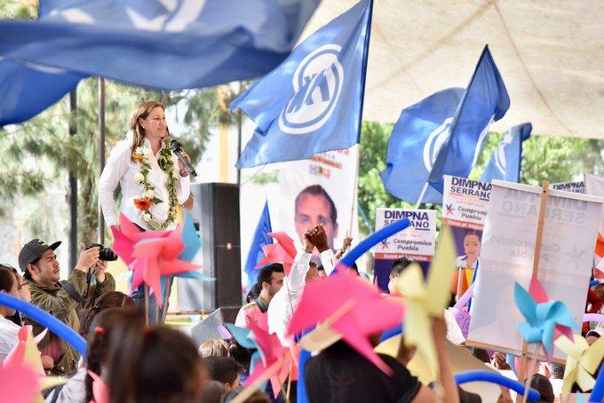 ¡Se debe respetar la voluntad de los poblanos👌🏻 Puebla eligió Gobernadora @MarthaErikaA! #MarthaGobernadora Photo