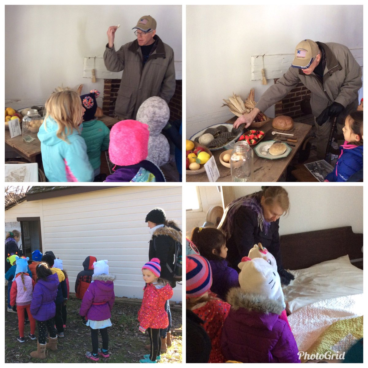 A chilly but wonderful day at the Ball-Sellers House in Glencarlyn on Friday with some curious Kindergartners asking great questions about life in the past, a terrific way to end the week <a target='_blank' href='http://twitter.com/CampbellAPS'>@CampbellAPS</a> <a target='_blank' href='http://twitter.com/CampbellOutside'>@CampbellOutside</a> <a target='_blank' href='https://t.co/rtAK3irvVi'>https://t.co/rtAK3irvVi</a>