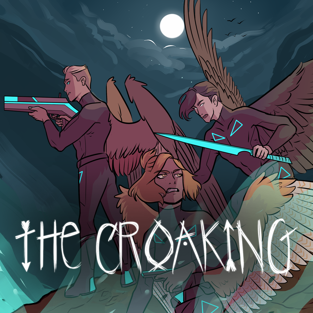 "WEBTOON on Twitter: ""DEC LAUNCH 🦅 THE CROAKING Between flight ..."