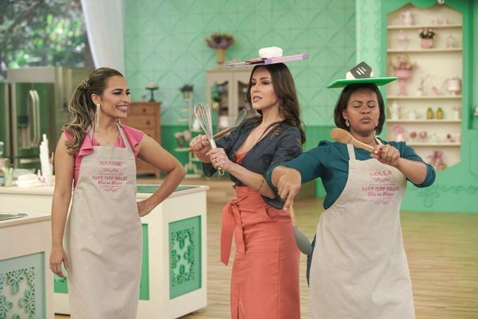 A 4ª temporada do #BakeOffBrasil ainda nem acabou e eu já estou com saudade! Quem mais? Foto