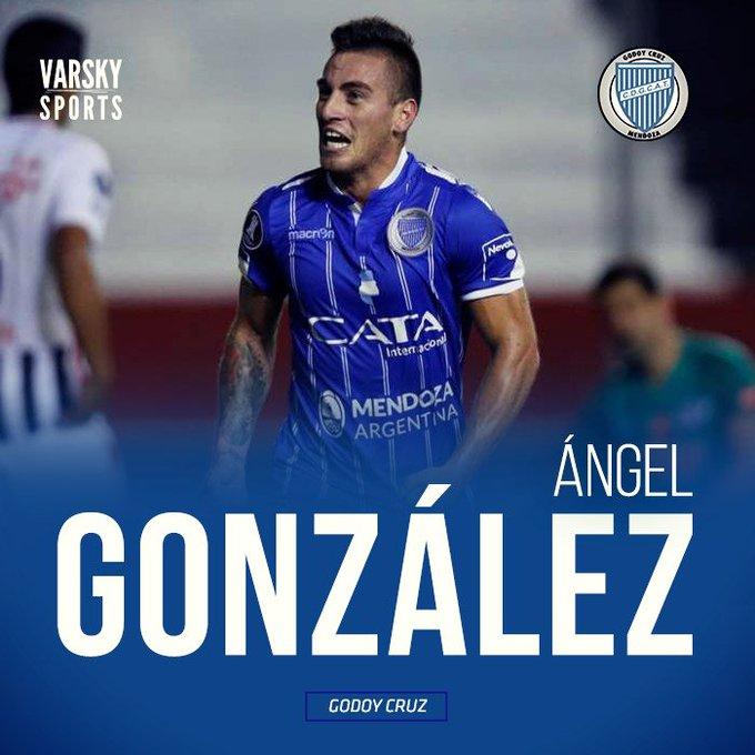 GOLAZO DE GODOY CRUZ! Lo hizo Ángel González. 1-0 sobre Independiente en 27 del ST. #Superliga Foto
