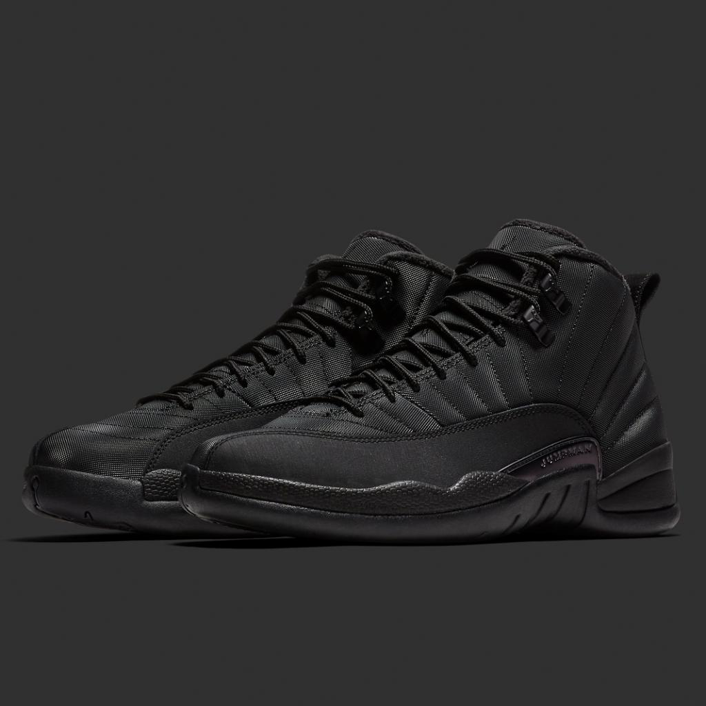 592fd47b6dbf2  ReleaseNews Jordan Retro 12 is releasing in men s and kid s sizes in an  all black color way that s ready for Winter next Saturday December 15th ...