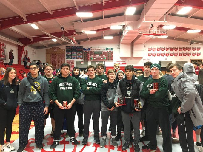 Congrats to WHS wrestlers for finishing 3rd as a team at the Bellevue tournament. 1st Conner Gregory 2nd Thaer Zayed 3rd Isaac Carmichael Cole Yuhas 4th Adam Abuaun Moe Zayed Hunter Ashburn 5th Hatem Zayed Aman Ali 6th place Patrick Hartup Mack Keenan Photo