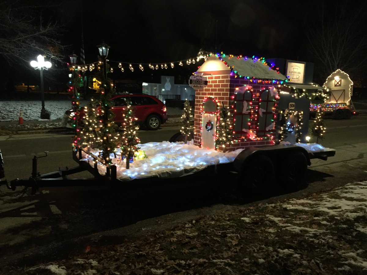 We would like 2 thank the judges 4 voting us 1st. at the Night Of Lights Parade.Thank u everyone who dedicated time to help build our float.A BIG THANK YOU 2 Brainerd Chemical for giving us a warm shop 2 build our float in & Steve Learnard 4 letting us use his amazing truck.