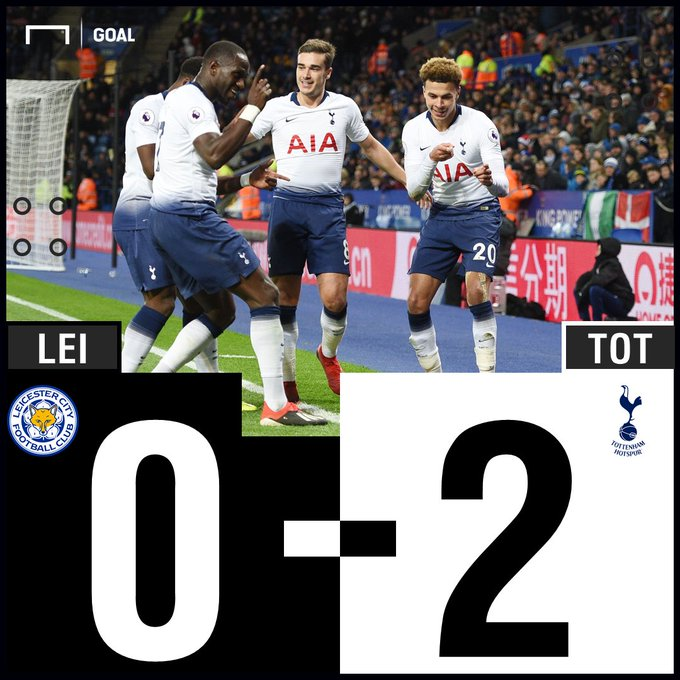 Tottenham claim a win ahead of their trip to Camp Nou! 💪 Will they pick up another there? 😬 #LEITOT Photo