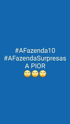 #AFazendaSurpresas Foto