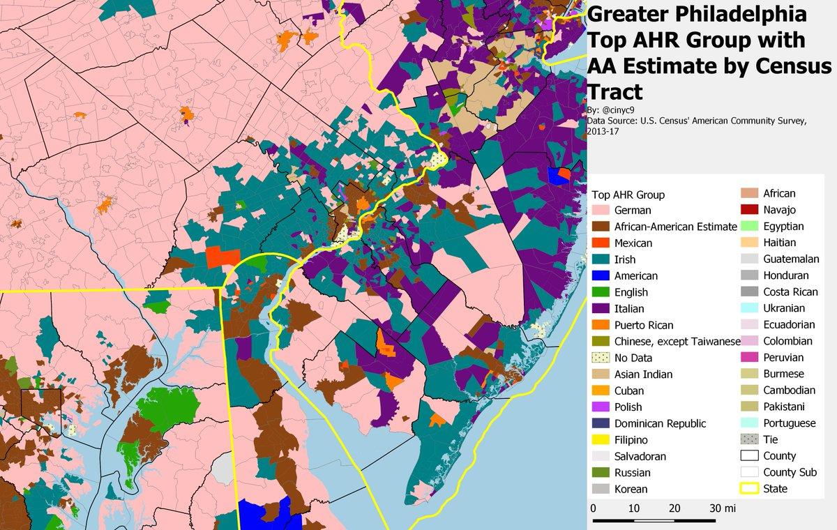 philadelphia suburbs map