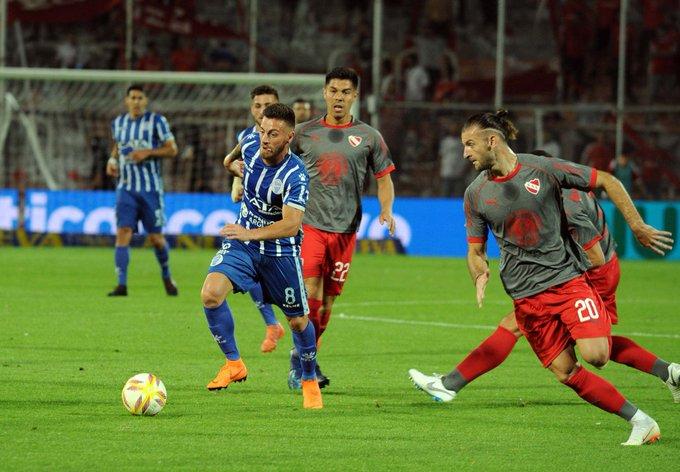 Independiente empató 1 a 1 en Mendoza ante Godoy Cruz. Los goles los hicieron Ángel Gonzalez y Maxi Meza. Foto