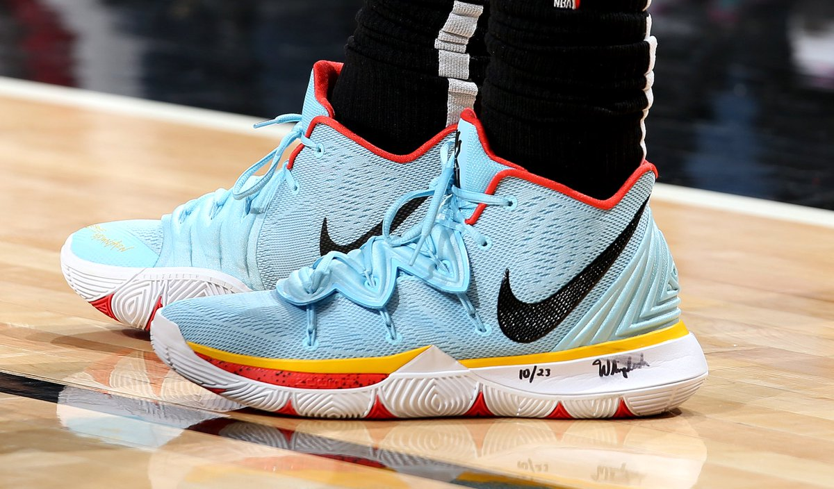 buy online d3a63 7e4dc  solewatch   kyrieirving in another new colorway of the nike kyrie 5. 📸    eightxten