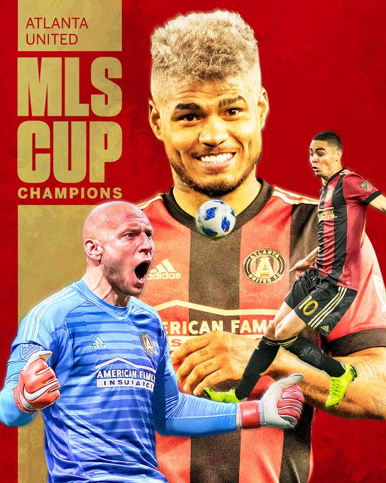 ATLANTA UNITED IS THE KING OF MLS! Atlanta defeats Portland 2-0 to take home MLS Cup! Photo