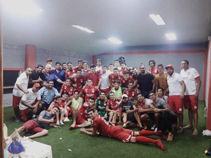 ¡HASTA PRONTO PRIMERA! La misión de trabajar y volver a la élite del fútbol paraguayo #Del3soy #VamosRojo 🔴🔴 Foto