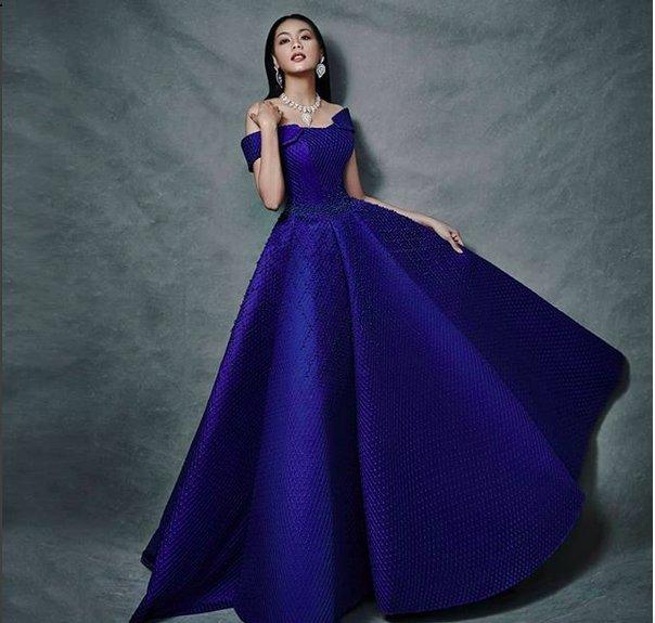 Intip Kembali 3 Tampilan Alya Nurshabrina di Final Miss World 2018 Photo
