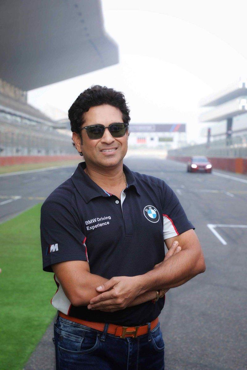 "Sachin Tendulkar Fan Club on Twitter: ""Sachin Tendulkar at Buddh  International Circuit. Image Courtesy : BMW INDIA… """