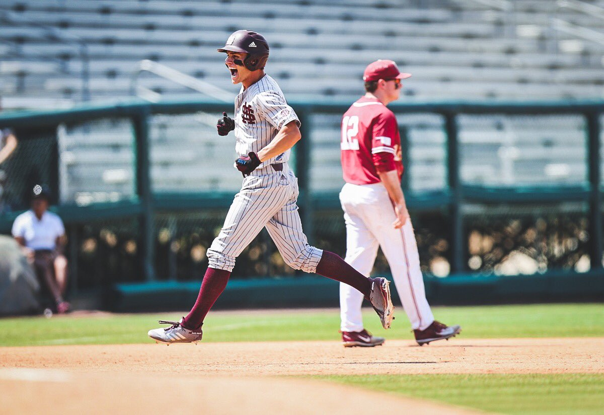 Congrats to Kyler Murray on winning the Heisman Trophy. Helluva football player, but don't let that distract you from the fact him &amp; his Sooners couldn't stop the diamond Dawgs in the Tallahassee Regional. #HailState #OmaDawgs<br>http://pic.twitter.com/O7dYKCKB9O