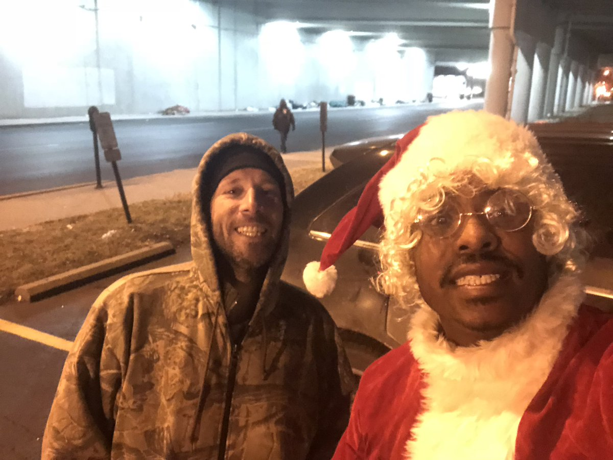Meet Jamie. I met him under the underpass in Louisville,KY laying down . We just started talking . He's been homeless for a year . A very humble guy .