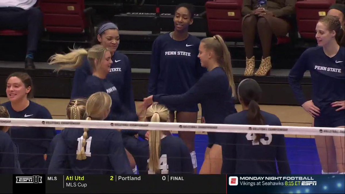 .@PennStateVBALL just wants to have fun! We can't blame them!! 🤷‍♀️ #NCAAVB
