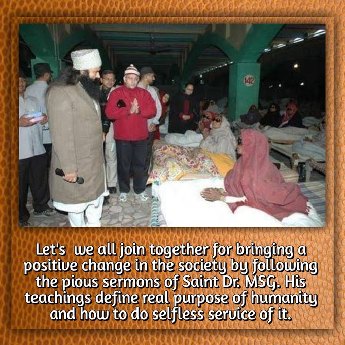 #FreeEyeCampRegistration @Gurmeetramrahim @derasachasauda Photo