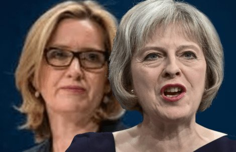 Tory backstabbers are sharpening their knives - but who thought the first would be AMBER RUDD? Photo