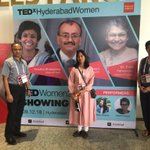 Image for the Tweet beginning: #tedxhyd good morning we are
