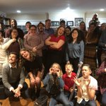 Happy holidays from the #QuaveLab!  Here's a silly group photo from our annual holiday party ☃️🥰